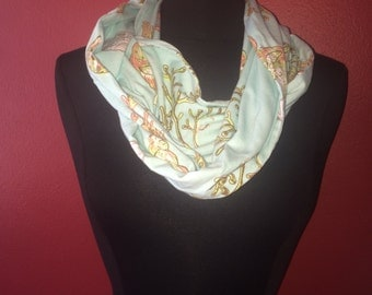 Repurposed/Upcycled Sea Shell Infinity Scarf