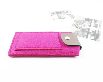 felt iphone 6S case, iphone 6 plus case, iPhone Sleeve, iPhone Case, iPhone 6 Sleeve, iphone 6S plus sleeve, iPhone SE sleeve Case, rose