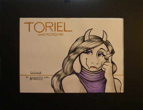 Toriel-Loreal spoof (original piece)
