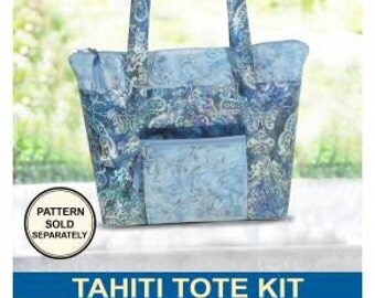 Tahiti Tote Kit by Pink Sand Beach Fabric & Pattern Included