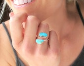 Bohemian Jewelry, BOHEMIAN RINGS, Boho Turquoise Rings for Women, Instagram, Adjustable Turquoise and Silver Fashion Rings, Gypsy Rings
