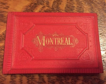 1877 Montreal Tourist Album of Historic Images