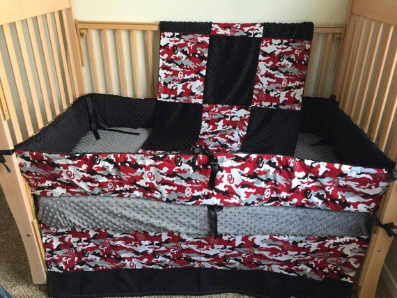 Oklahoma Sooners Crib Bedding