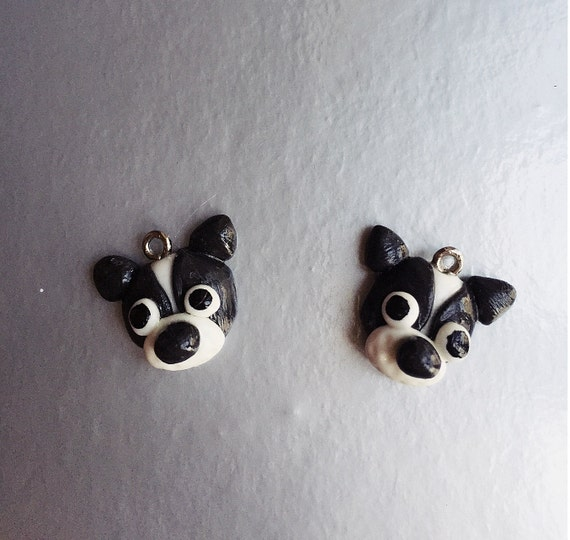 Miniature Dog,Dog Charm Polymer Clay Jewelry,Miniature Dog Charm Jewelry  Accessories,Handmade Jewelry Accessories,Pendant,Necklace,Earring