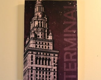 Cleveland Terminal Tower Wall Art