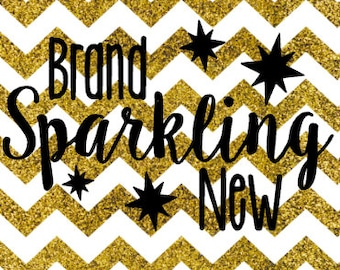Brand Sparkling New SVG