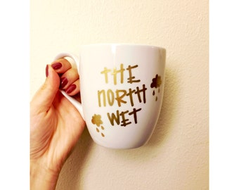 The North Wet // Coffee Mug // Northwest Mug // Pacific Northwest Mug // Rain Could Mug