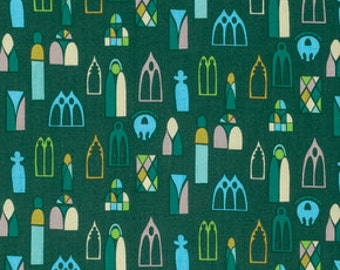 SALE! Fabric of the Week 2.00/Yard  - in Forest, Fibs and Fables Collection by Anna Maria Horner for Free Spirit 4123