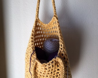 Tote Bag - a loom knit pattern