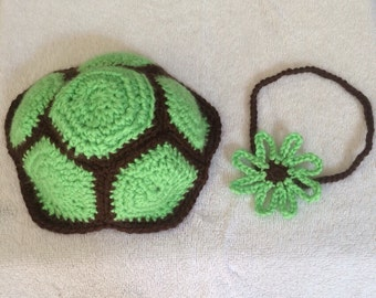Baby Turtle Shell Photo Prop