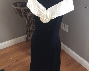 Off shoulder Jessica McClintock small/medium gown