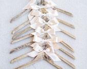 Custom Calligraphy Wooden Dress Hanger