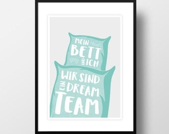 "Artprint ""Dreamteam"""