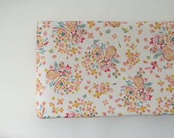 Changing Pad Cover - Swifting Floral