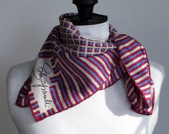 Vintage Schiaparelli Silk Scarf