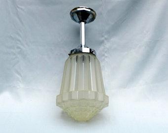 French Art Deco pendant lamp