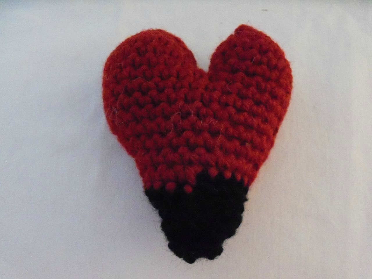 Amigurumi Heart Pillow : Heart Plushie 3 inch Stuffed Heart Amigurumi Heart Stuffed