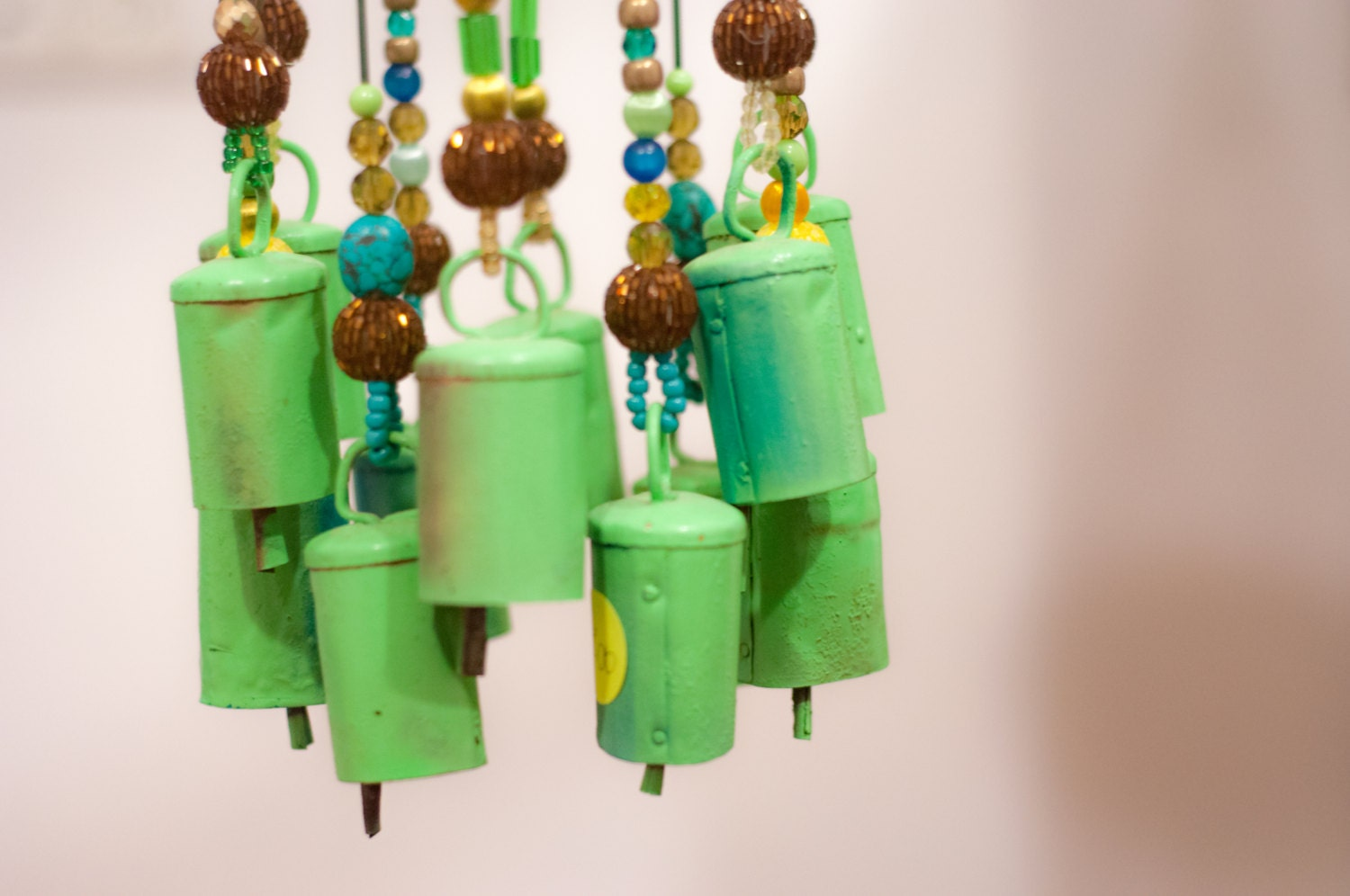 Outdoor hanging decor bell wind chimes sun catcher outdoor for Outside hanging ornaments
