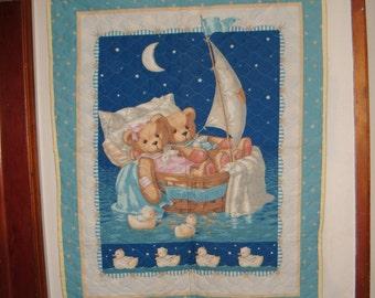Teddy Bear Cruise Baby Blanket