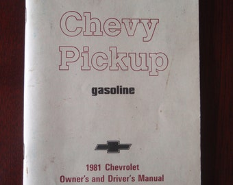 1951 Chevy Chevrolet Pickup Owner Driver Manual Collectible Booklet Book L1247