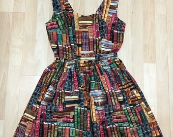 Packed Book Library Dress