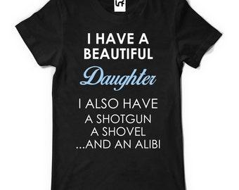 I Have a Beautiful Daughter Men's T-Shirt (SB581)