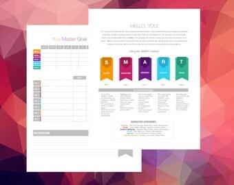 Master Goal Tracker Printable