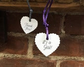 Custom Heart Tags: gifts,...