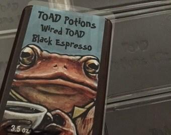 Wired TOAD Black Espresso