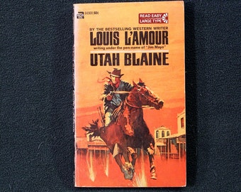 a summary of louos lamours book utah blaine Utah blaine by louis l'amour starting at $099 utah blaine has 9 available editions to buy at alibris.