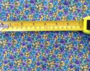 Floral Coton Fabric BTHY