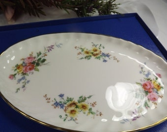 Royal Doulton, Vintage Royal Doulton Arcadia , Unused , Boxed Oval Dish/ Plate