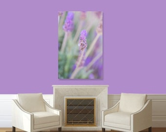 Purple Lavender Wildflowers, Spring Flowers, Fine Art Print, Nature Photography, Wallart Photo Printable, Home Office Decor Gift
