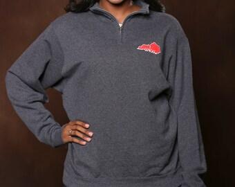 Western Kentucky University 1/4 Zip Pullover - Custom 1/4 Zip Pullover Sweatshirt - WKU