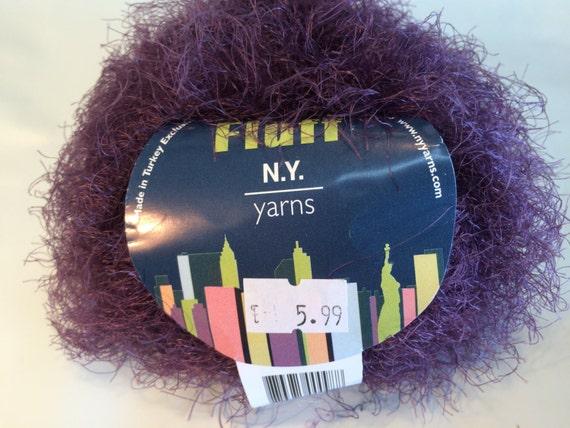 Hand Knitting Yarn, Acrylic Yarn, Fluff Yarn by New York Yarns, Angora ...