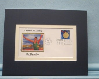 The Special Olympics and the First Day Cover of the Special Olympics stamp
