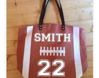 Sports Totes - Football Tote - Baseball Tote - Softball Tote - Sports Bag