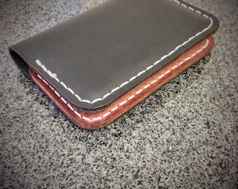 Leather Card Holder, Men's Leather Wallet, Leather Bifold Men's Wallet, Minimalist Wallet, Card Holder, Card Wallet, Men's Wallet