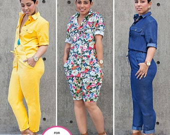 Simplicity Sewing Pattern 8060 Misses' Jumpsuits from Mimi G Style