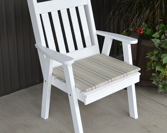 Yellow Pine Traditional English Dining Chair
