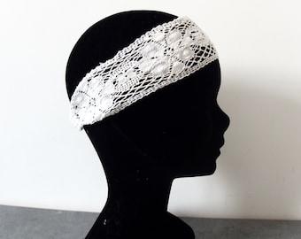 Retro lace headband