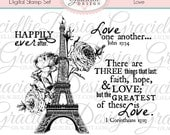 Love Digital Stamp Set