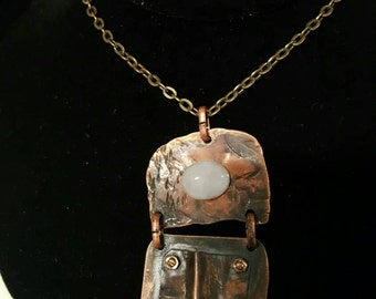 Copper Opal  Necklace
