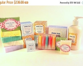 21 Piece Skin Care Gift Set Skin Care Set Natural Skin Care Gift Set Bath and Beauty Natural Skincare Spa Gift Set Skincare Gift Set