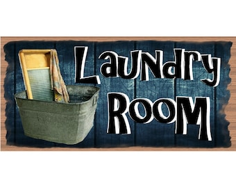Laundry Wood Signs -Laundry Plaque - GS 2548 Laundry Room Decor - Laundry Room Plaque