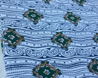 Funky Vintage Cotton Fabric - Custom Fabric Inc