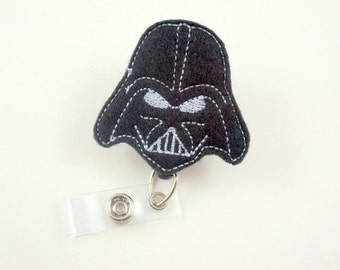 Space Wars - Retractable ID Badge Holder-Name Badge Holder-Nurses Badge-Badge Clip-Badge Reel-Pediatric-RN-Nursing Badge Holder