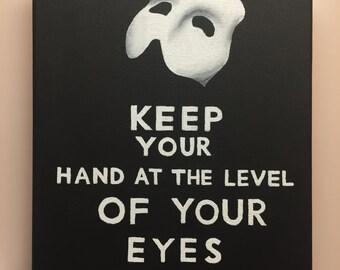 Phantom Keep Calm Poster
