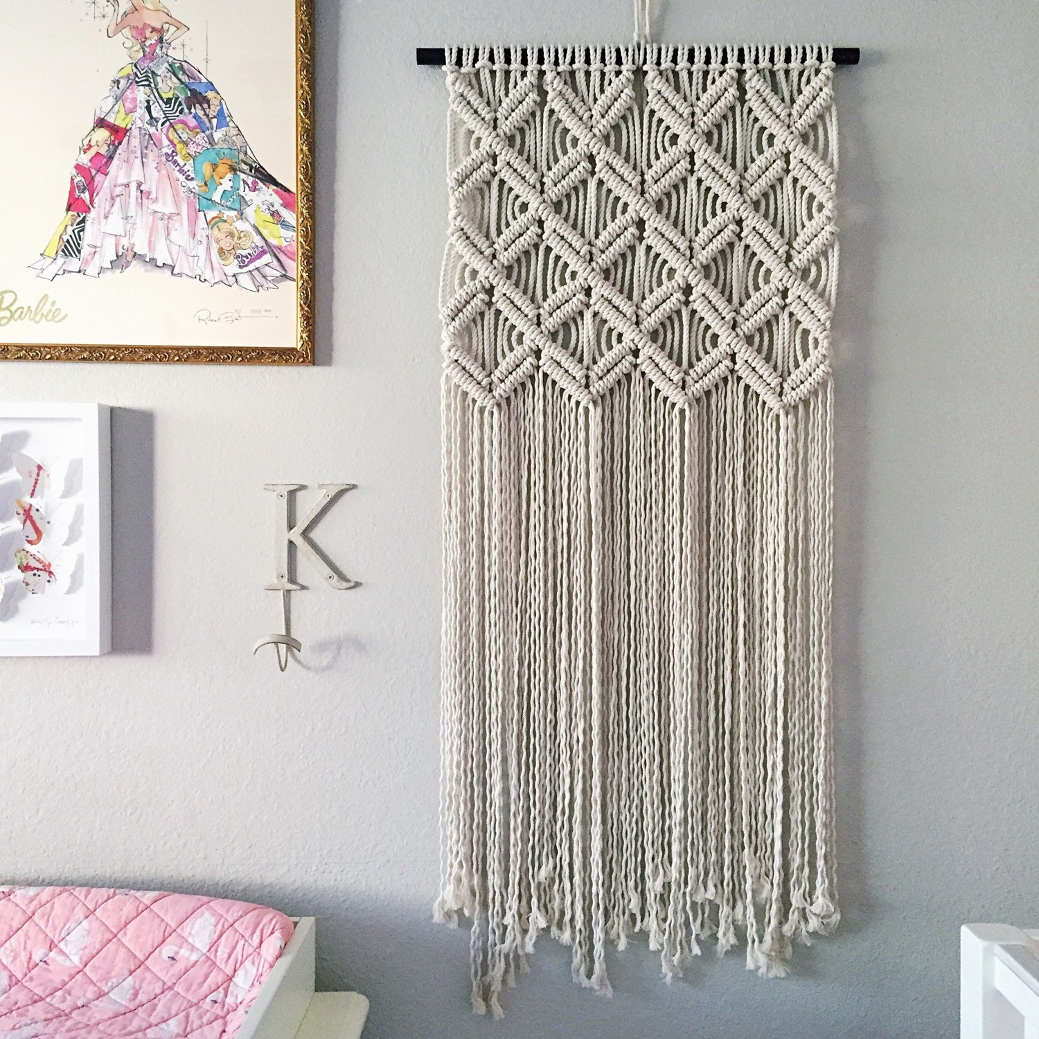 macrame wall hanging kit macrame kit macrame wall hanging kit diy gift kit by 6218