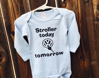 VW Stroller to VW long sleeve!